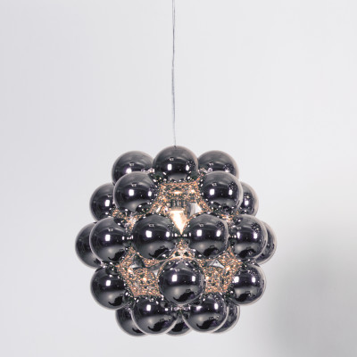 Beads Penta Pendant Light Gunmetal
