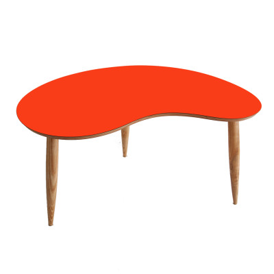 Bean Coffee Table Orange