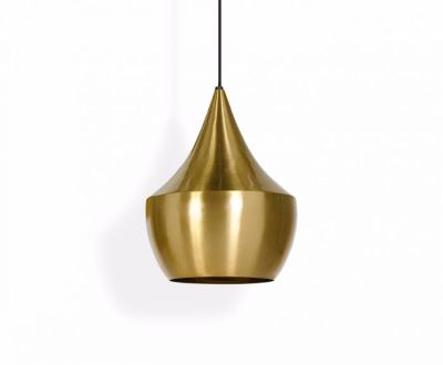 Beat Fat Pendant Brass