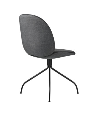 Beetle Fully Upholstered Dining Chair with Swivel Base