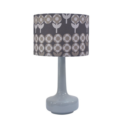 Bell Bottom Lamp with Verdure Shade Peppercorn