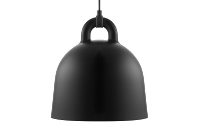 Bell Pendant Light Black, Small
