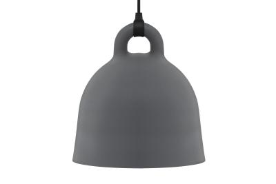 Bell Pendant Light Grey, Medium