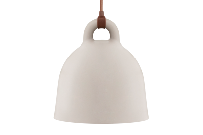 Bell Pendant Light Sand, Small