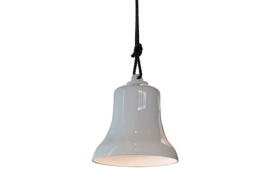 Belle Pendant Lamp Polished Bronze Ceramic, 45