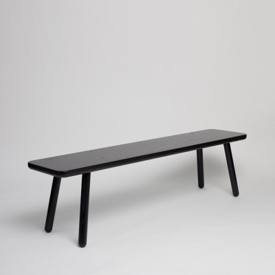Bench One Black, 180 cm