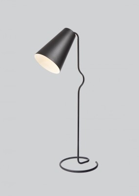 Bender Floor Lamp Black
