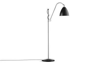 Bestlite BL3M Floor Lamp Black and Chrome