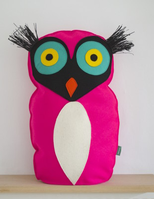 Bird Cushion Pink bird