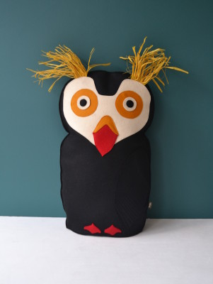 Bird Cushion Puffin