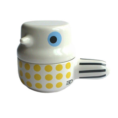 Bird Pot Yellow