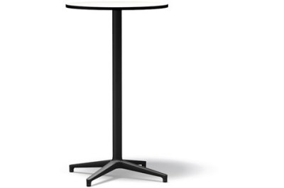 Bistro Stand-up Round table, Outdoor Package of 10 basic dark laminate white, 64.2