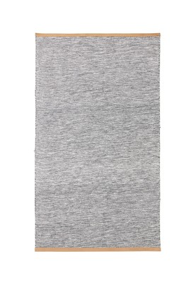 Björk Long Rug Light grey, 70x130 cm