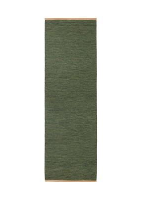 Björk Long Rug Green, 80x250 cm