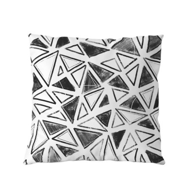 Black and White Cushion with insert
