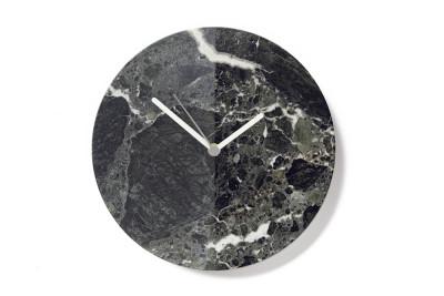 Black Marble Moon Clock