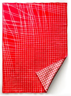 Blankets Sentiment coral/beige
