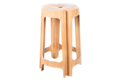 Bloom Bar Stool Birch