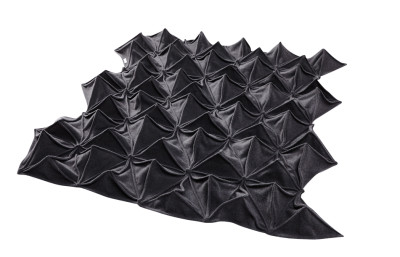 Bloom Blanket  Charcoal