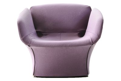 Bloomy Armchair B0211 - Leather Oil cirè