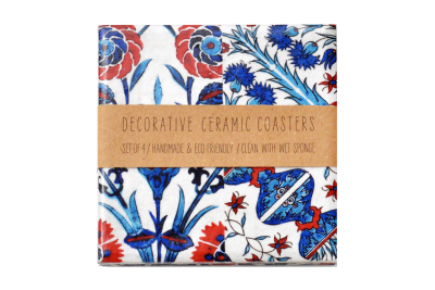 Bohemian Flowers Coasters