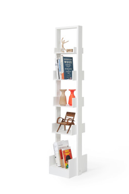 Book case Bookie - White