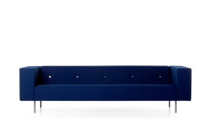 Bottoni 2 Seater Sofa Cervino Leather Pure
