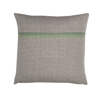 Boutique Green Square Cushion  Green