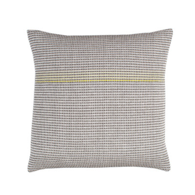 Boutique Yellow Square Cushion  Yellow