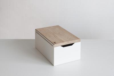 Bread Box White