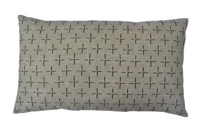 Brockley Cross Long Cushion Black