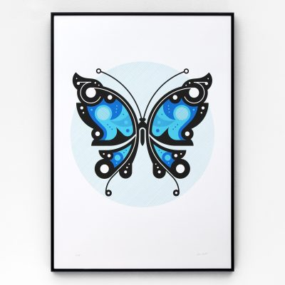 Butterfly #2 A2 limited edition screen print