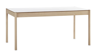 C44 Rectangular Dining Table White Top, Large