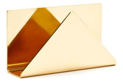 C6 Letter Rack Brass