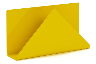 C6 Letter Rack Yellow