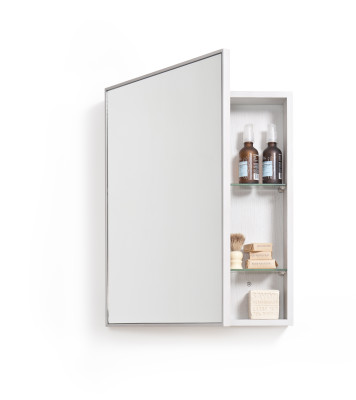 Cabinet 550 Slimline Oyster White