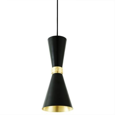 Cairo Contemporary Pendant Light  Powder Coated Black