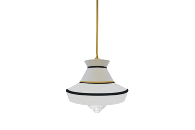 Calypso Guadaloupe Pendant Lamp White