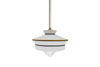 Calypso Martinique Pendant Lamp White