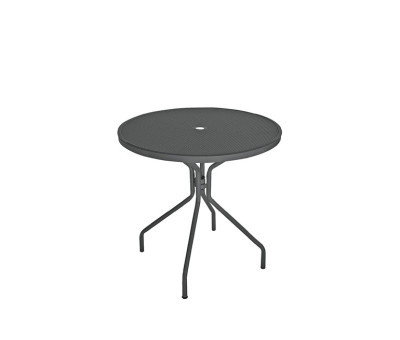 Cambi Round Table Small, Matt White