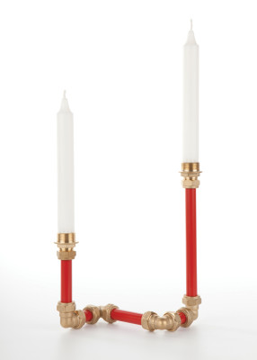 Candelabra Two (Red)
