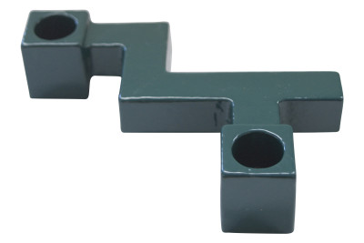 Candleholder KA Dark Bluegreen