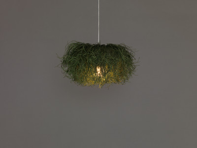 Caos CA04B Pendant Lamp Blue, Transparent Cable, Yes