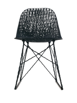 Carbon Dining Chair Without cap & pad