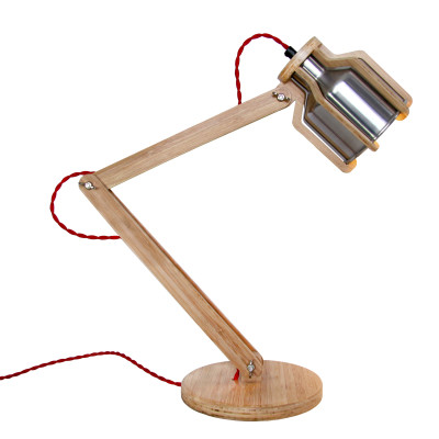 Cell Desk Lamp Red