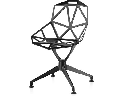 Chair One - 4 Star Aluminium, Non-swivel Base