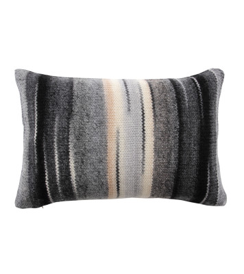 Chalet Cushion Light Grey and Beige