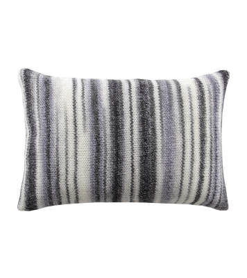 Chalet Glamour Cushion White, Lightgrey and Silver