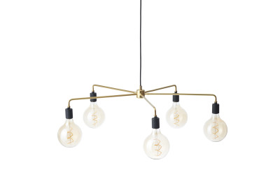 Chambers Chandelier 96, Brass