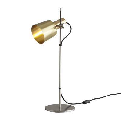 Chester Table Lamp Satin Brass